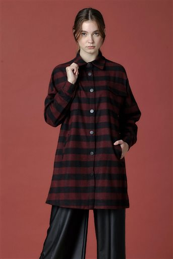Shirt-Claret Red 20K1203-67