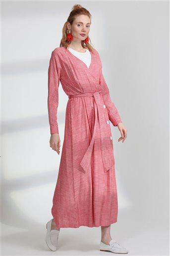 Elbise-Kırmızı 5102-34