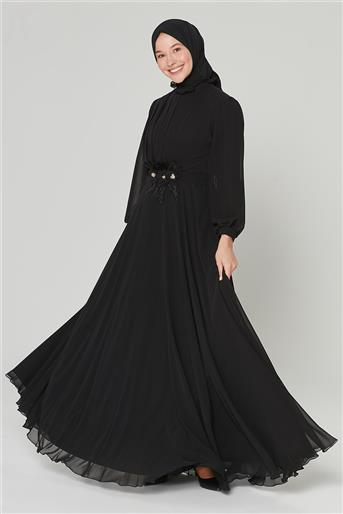 Armine Abiye Elbise Siyah 20Y9505