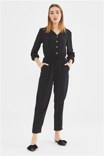 Overall-Black 20Y022-001-01