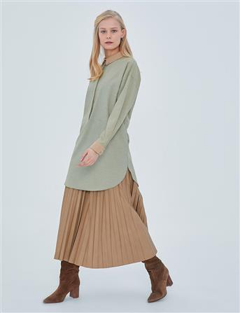 Tunic-Green-Yellow KA-A20-21255-25-03