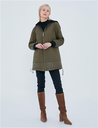 Jacket-Khaki KY-A20-73003-21
