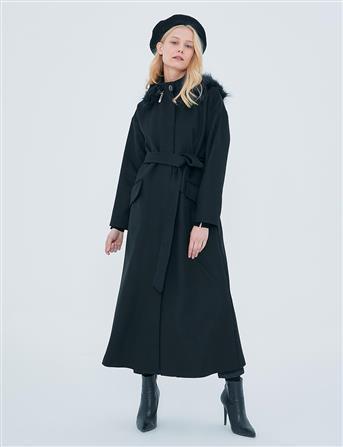 Coat-Black KA-A20-17034-12