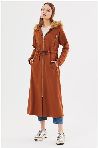 Trenchcoat-Milk Brown 719KKAP73015-37