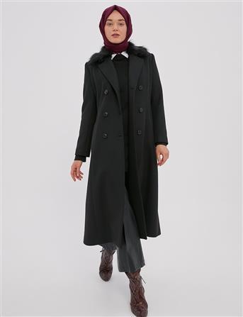 Coat-Black KA-A20-18004-12