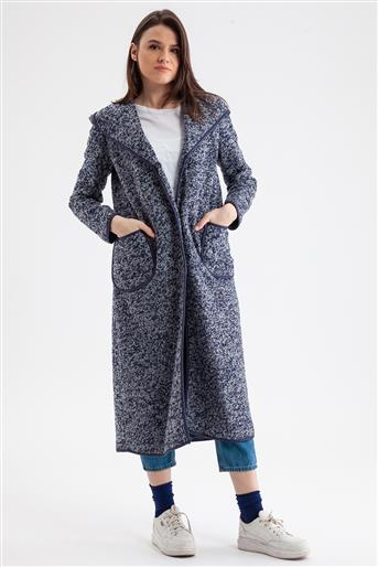 Coat-Navy Blue V19KKBN25028-02