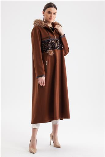 Trenchcoat-Milk Brown 719KKAP73004-37