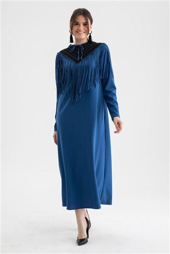 Dress-Indigo V19KELB17006-35