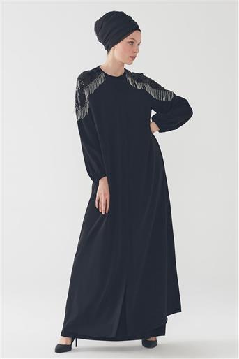 Abaya Black F-0046 Z20YB0046FRC101-R1210