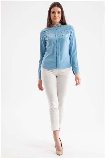 Blouse-Mint 3459-24