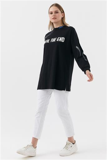 Sweatshirt-Black KA-B20-10035-12