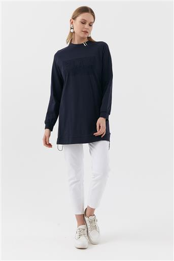 Sweatshirt-Navy Blue KA-B20-10026-11