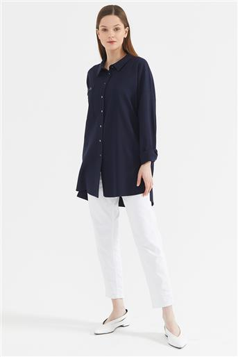 Tunic-Navy Blue KA-A20-21273-11