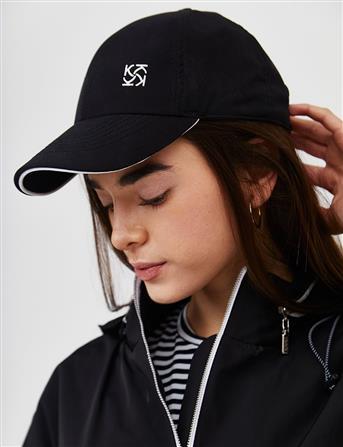 Kayra Logolu Unisex Şapka Siyah B21 SPK02
