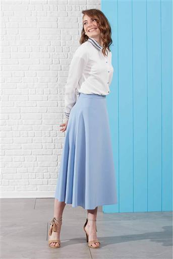 Skirt - Blue V19YETK20018