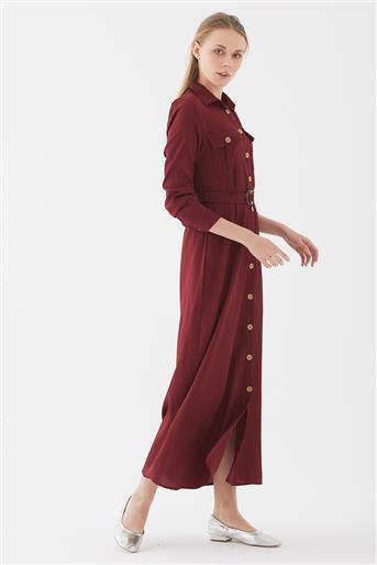 فستان-بوردو UA-1S10049-67
