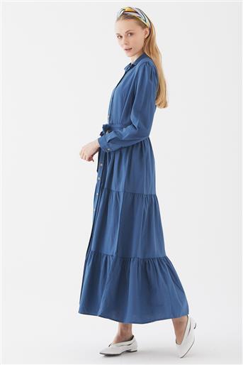 Elbise-İndigo UA-1S20004-83