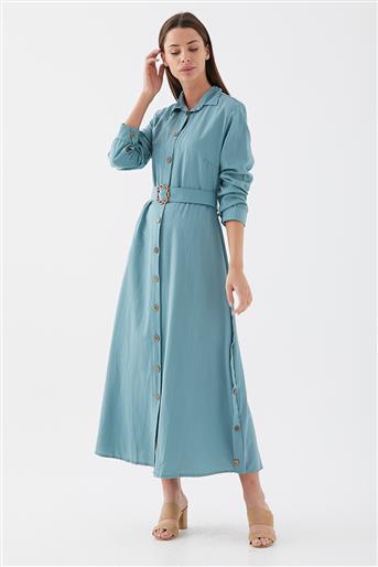 111627-24 فستان-أخضر