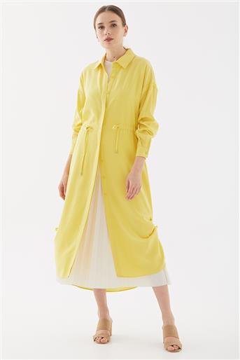 Bel Büzgülü Giy-Çık-Sarı TK-W1228-28