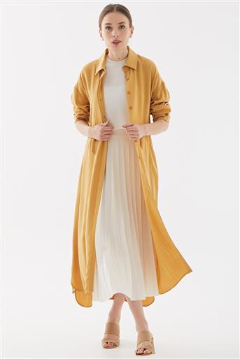 ملابس خارجية-خردل TK-W1228-50