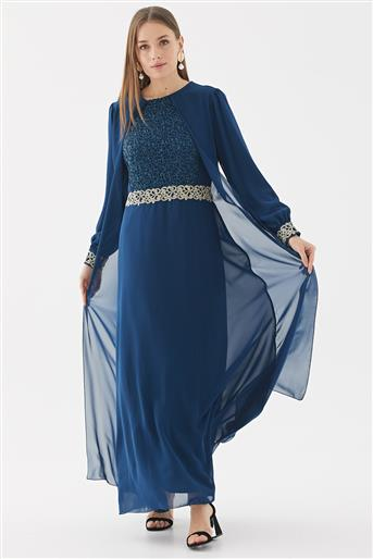 Evening Dress-Indigo 110270001-83