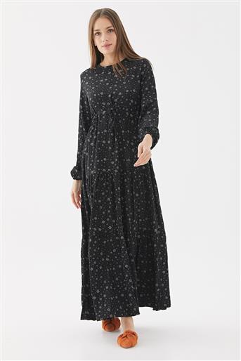 1160802-01 فستان-أسود