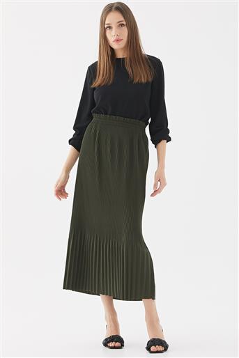 Skirt-Khaki 117005-27