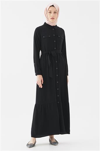 Elbise-Siyah DO-B20-63009-12