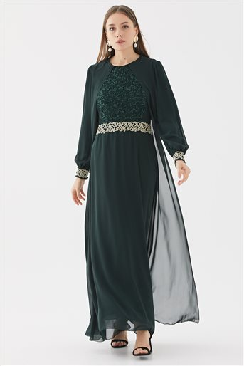 Evening Dress-Emerald 110270001-62