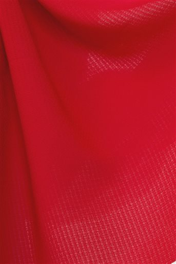 2631.SAL.535.1-34 شال-أحمر