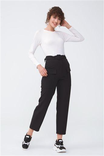 Cep Detaylı Pantolon-Siyah 2659.PNT.257.1-01