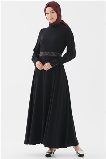 Elbise-Lacivert DO-B20-63026-11