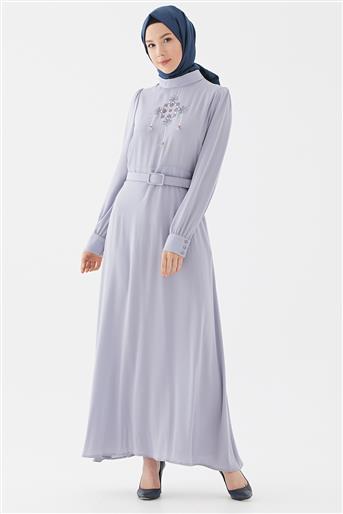Elbise-Gri DO-B20-63012-07
