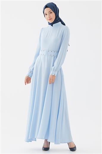 Elbise-Mavi DO-B20-63025-09