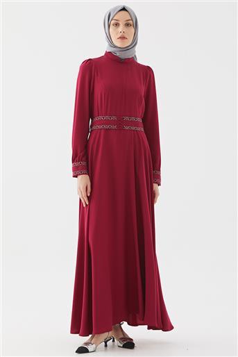 Elbise-Fuşya DO-B20-63025-04