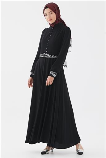 Elbise-Siyah DO-B20-63015-12