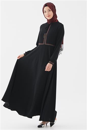 Elbise-Siyah DO-B20-63023-12