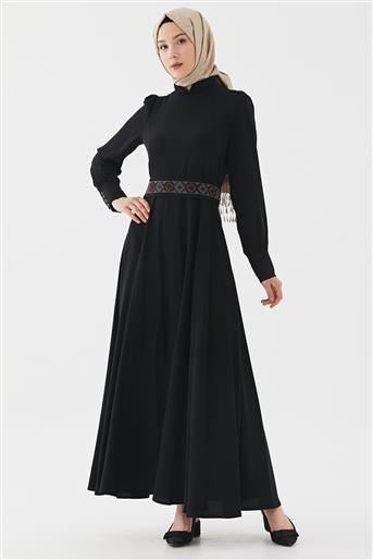 Elbise-Siyah DO-B20-63026-12