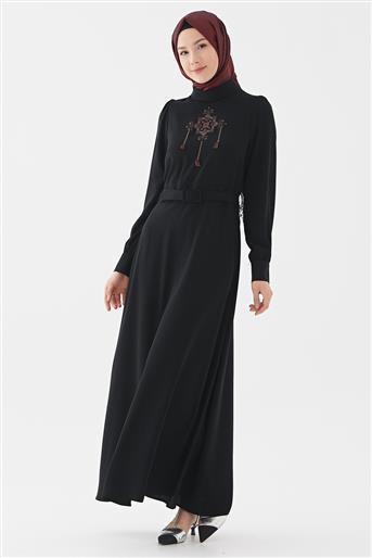 Elbise-Siyah DO-B20-63012-12