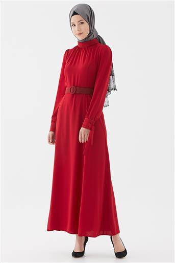 Elbise-Kırmızı DO-B20-63018-19