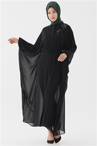 Abaya-Siyah 720YABA60007-01