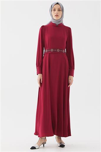 Elbise-Fuşya DO-B20-63026-04