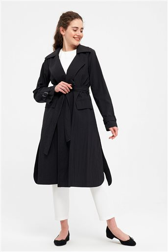 Trenchcoat-Black 2640.TRN.493.1-01