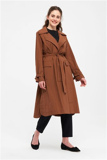 Trenchcoat-Brown 2640.TRN.493.1-68