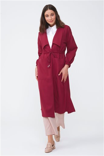 Trenchcoat-Claret Red 2723.TRN.273.1-67