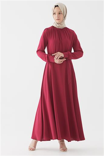 Elbise-Fuşya DO-B20-63022-04