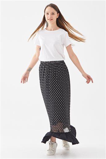 Skirt-Black 118005-1