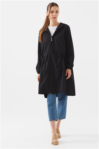 Trench Coat-Black 119402-01