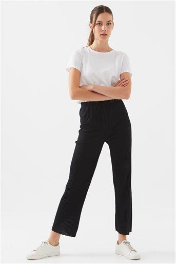 Kaşkorse Pantolon-Siyah 122001-01