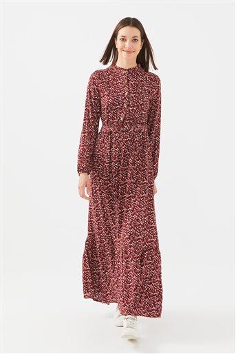 1017004-67 فستان-بوردو